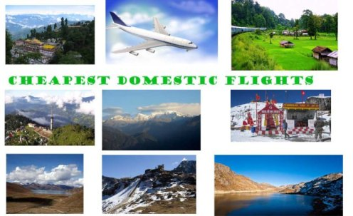 Cheapest Domestic Flights, Domestic Flights Booking
