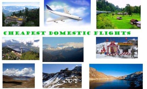 Cheapest Domestic Flights, Domestic Flights Booking