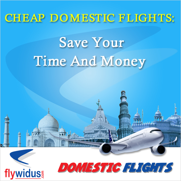 Cheap domestic flights at Flywidus