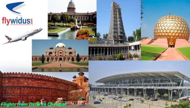 Flights from Delhi to Chennai