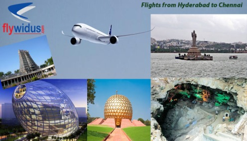 Flights from Hyderabad to Chennai