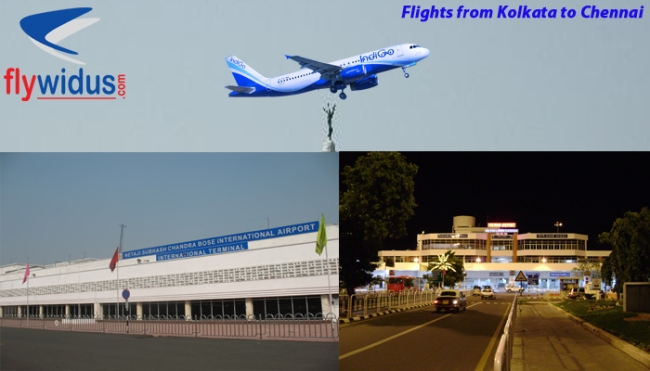 flights from Kolkata to Chennai