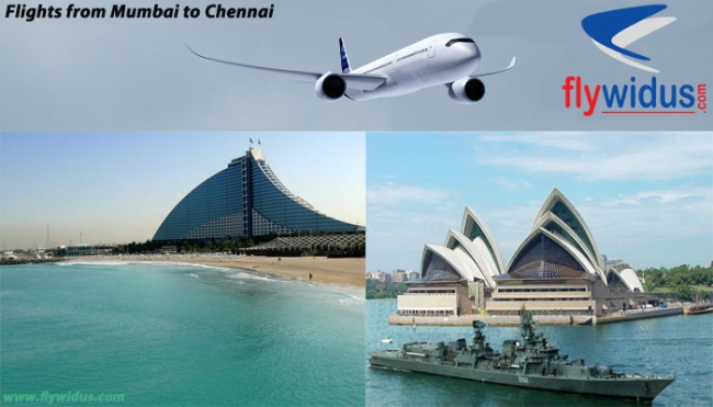 flights from mumbai to chennai
